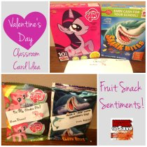 Valentine's Day Fruit Snack Sentiments