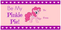 Be my Pinkie Pie Valentine's Day printable tags on MissiontoSave.com