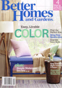 Free  magazine subscription better homes and gardens
