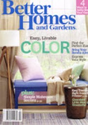Free subscription better homes and gardens