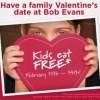 Bob Evans Kids Eat Free 2/11-2/14/13