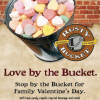 The Rusty Bucket Kids Eat Free Valentines Day Event, 2/14/14