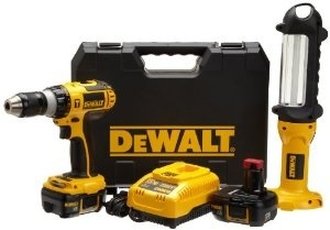 DEWALT Hammer Drill and Area Light Combo Kit, 66% Savings