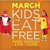 Bob Evans Kids Eat Free All Month Long!