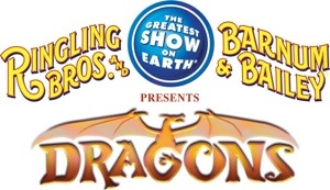 Ringling Bros. and Barnum & Bailey Circus DRAGONS in Columbus