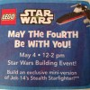 May the Fourth Be With You Free Lego Mini Build at Toys R Us (5/4)
