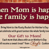 The Rusty Bucket Celebrates Mother's Day with Free Cheryl's Cookies!