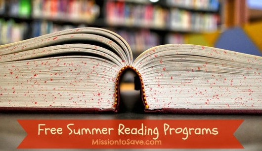 We love participating in Free Summer Reading Programs. The great incentives keep my kids reading books all summer long. Check out the list of reading programs being offered for this year.