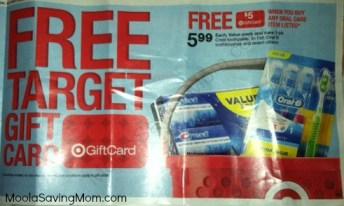 Target Oral Care Gift Card Offer