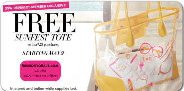 DSW FREE TOTE