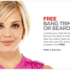 JC Penney Free Bang or Beard Trim Through June