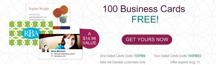 See missiontosave.com to find out how to snag 100 free business cards!