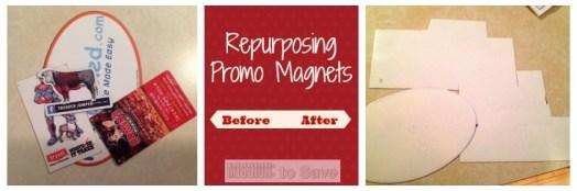repurposing promo magnets for car ride games