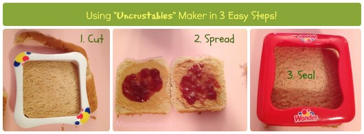 Homemade Uncrustables in 3 easy steps (on missiontosave.com)