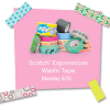 Heads Up!  Free Washi Tape from Scotch on Monday!