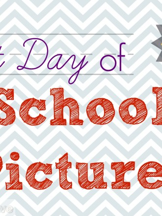 Make your first day of school pictures pop with printables from MissiontoSave.com