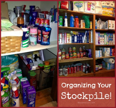 organizing your stockpile