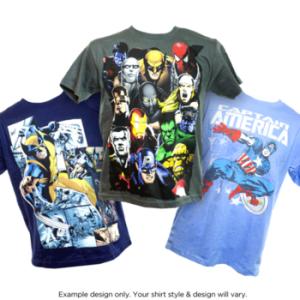 comic book super hero shirts