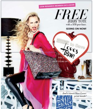 DSW Free Tote is Back.  MissiontoSave.com *hearts* DSW!