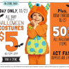 $5 Old Navy Toddler and Infant Costumes- In Store, Today Only!