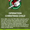 Operation Christmas Child Pack a Shoebox Jack! #ShoeboxSi