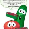 VeggieTales Get into Operation Christmas Child Shoebox Packing Too!