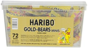 haribo mini gummi bears