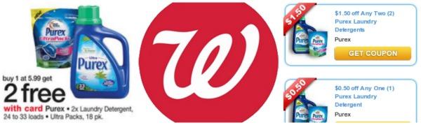 walgreens Purex deal