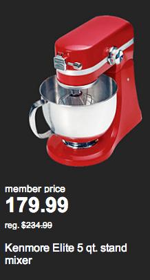 sears doorbusters kitchenaide mixer