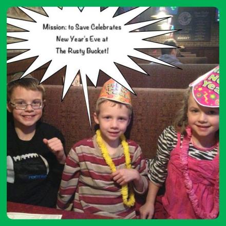 Rusty Bucket Kids Eat Free on New Years Eve