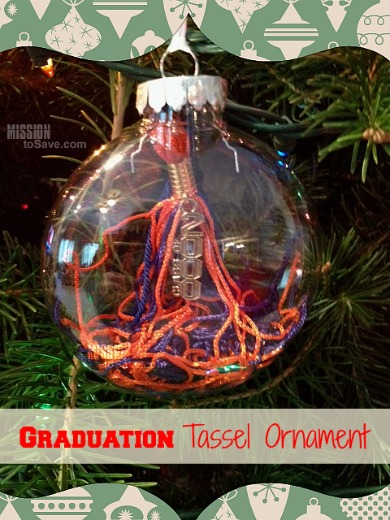Easy Diy Graduation Tassel Ornament Mission To Save