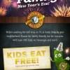Rusty Bucket Kids Eat Free on New Years Eve! + $50 GIVEAWAY!