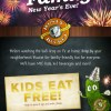 Celebrate with your family at Rusty Bucket for Kids Eat Free on New Year's Eve