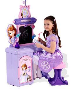Disney Sophia the First desk