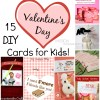 15+ DIY Valentine Day Cards for Kids