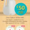 ibotta save on milk