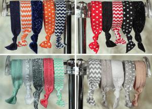 modern penny elastic Free hair ties