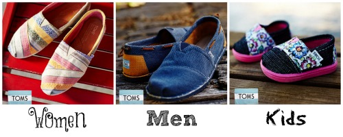 TOMS for the family