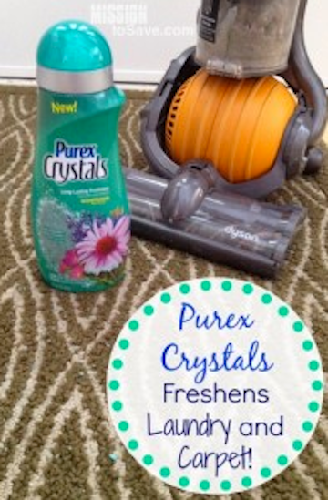 Purex Crystals Freshens Laundry And Carpet Win 2 Free