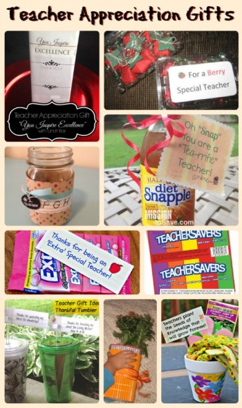 Show them you care with these Teacher Appreciation Gifts!