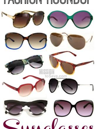 Friday Frugal Fashion Roundup Sunglasses Edition!