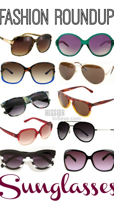 Friday Frugal Fashion Roundup Sunglasses Edition!
