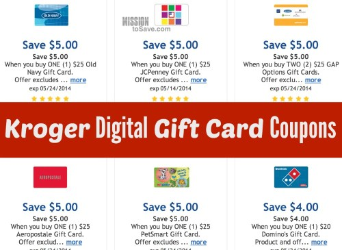 kroger digital gift card coupons