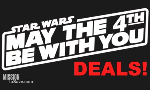 Check out these May these May the 4th Be With You Deals for your Star Wars fan!
