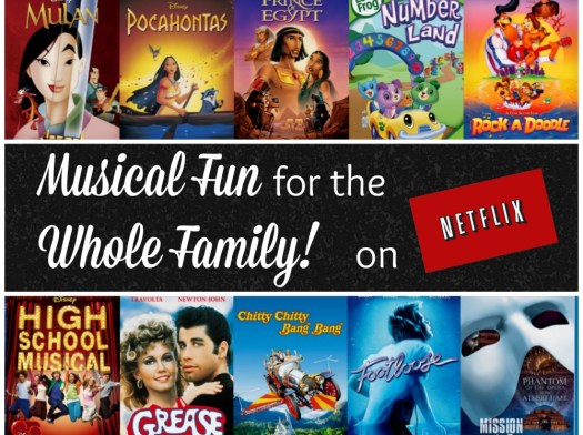 Netflix Musical Fun for the Whole Family #StreamTeam