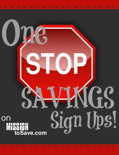 One Stop Savings Sign Ups (for Apps, Rewards Programs and More!)