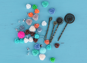 DIY Resin Flower Accessory Kit