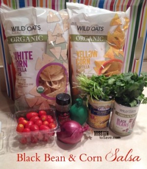 Black Bean and Corn Salsa (with Wild Oats organic products)