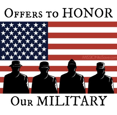 many businesses want to give back to the men and women who serve the USA. Check out this list of Military discounts, freebies and offers.