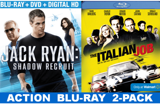 Jack Ryan Shadow Recruit and Italian Job Combo Pack #shop